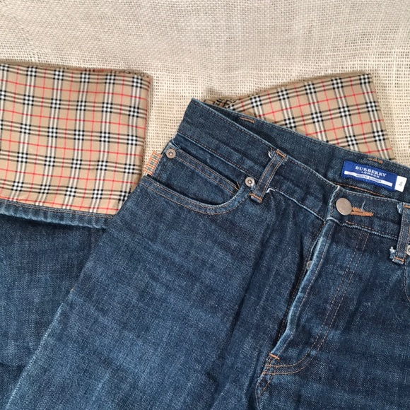 6bf6282dea Burberry Pants - BURBERRY LONDON Blue Label Jeans